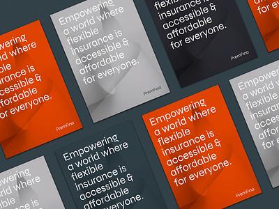 PremFina Corporate Rebrand branding brand identity corporate branding