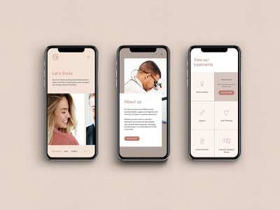 Yorkshire Dental Suite Brand Identity Mobile Design mobile design dentistry website design dentistry branding website design agency branding brand identity branding