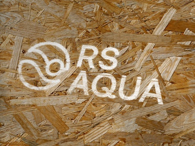RS Aqua Logo branding agency branding marque rebrand logodesign logo brand identity