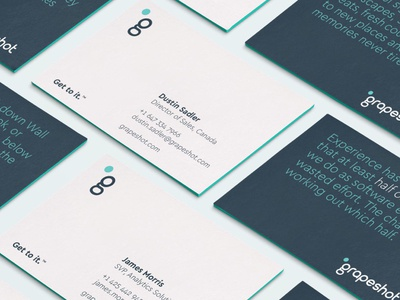 Grapeshot custom business cards by fableco dribbble grapeshot custom business cards reheart Gallery