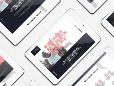 Genie Goals Tablet Website