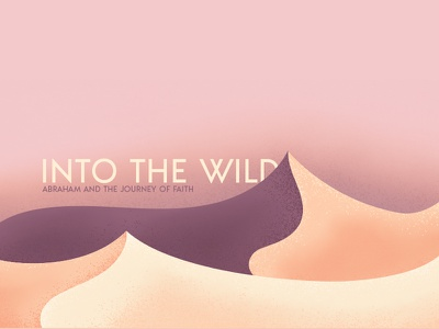 Into the Wild abraham wild pink sky desert