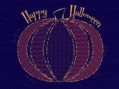 Pumpkin Patchwork retro retro supply co retro supply vector texture halloween seasonal holiday pumpkin
