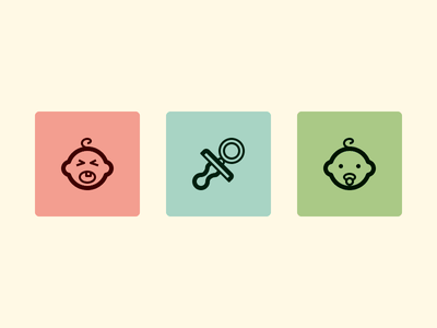 Baby icon yaaaaaaaaaaaaaaaaaaaaaaaaaaaaaay cry baby pacifier vect icon set icon pack vector svg icons lindua