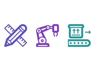 Production yaaaaaaaaaaaaaaaaaaaaaaaaaaaaaay robotic arm robot vect conveyor belt icon set icon pack vector svg icons icon lindua