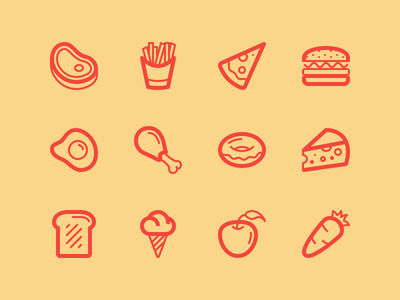 Foods yaaaaaaaaaaaaaaaaaaaaaaaaaaaaaay steak fries vect pizza burger egg chicken icon pack icons icon lindua