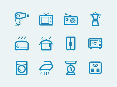 Home Appliance yaaaaaaaaaaaaaaaaaaaaaaaaaaaaaay kitchen hair dryer vect radio iron toaster scale icon pack icons icon lindua