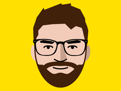 self-portrait vector illustrator self-portrait