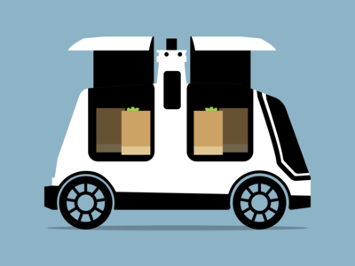 Nuro Delivery Bot Vehicle