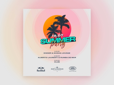 Concept Flyer #2 | Summer Party