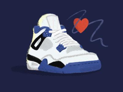 Skr - illustration product handrawn ipad sneaker shoe branding illustration hellohello design