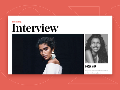 Interview Detail print layout indian layout clear hellohello mondrianism mondrian interview typography white simple web website minimal clean interface ux ui design