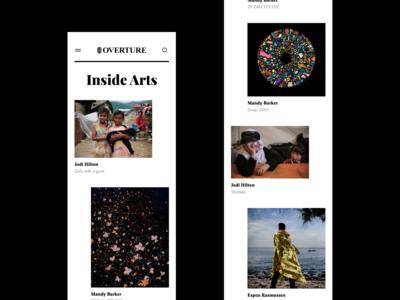 Overture - Inside Arts