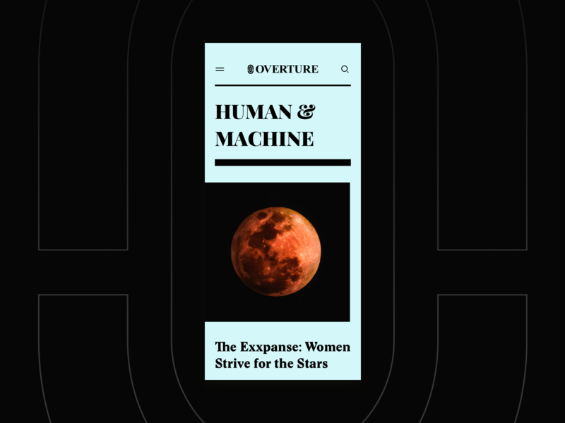 Overture - Human & Machine the new york times magazine humanity social overture typography hellohello branding bold ios simple web website minimal clean interface ux ui design mobile