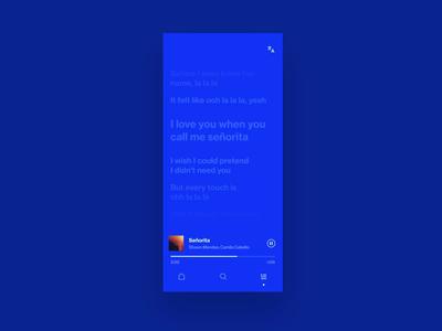 Lyrics interaction motion animation iphone karaoke songs lyrics music ios hellohello simple minimal app clean interface ux ui design