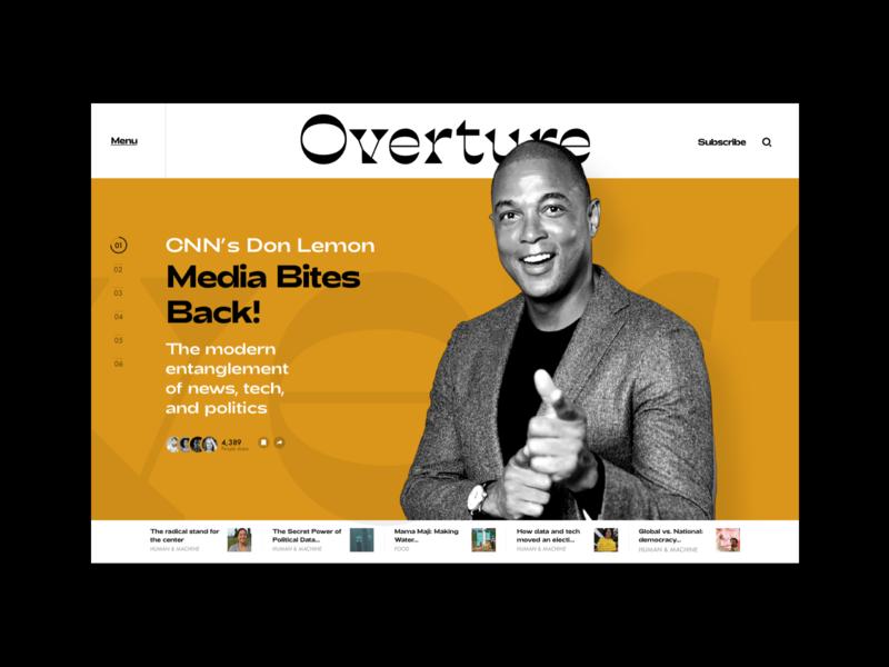Overture publication font typography yellow website magazine overture web hellohello simple minimal app clean interface ux ui design