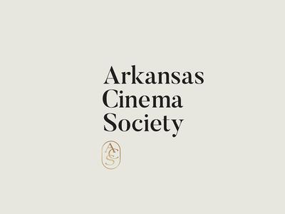 ARKCIN gold black blkbox identity arkansas monogram film branding logo