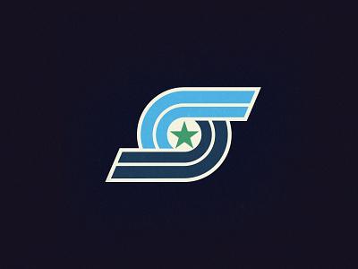 Springdale All-Stars design branding arkansas retro typography logo
