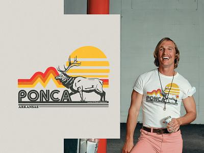 Alright  Alright Alright apparel t-shirt design 70s texture retro design arkansas illustration vintage
