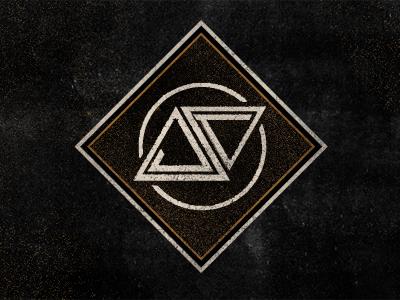 JT Monogram logo branding texture typography black white jt monogram circle