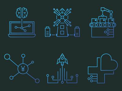 Icon Design for AI Computing Company