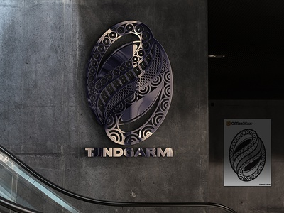 The Tjindgarmi Shield Logo Reflecting Life in the Torres Strait