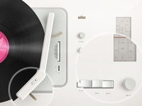 Dribbble is playing on my Dieter Rams 2