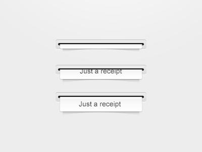 Freebie receipt