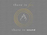 FireSound t-shirt design