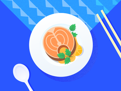 Fish fish illustration food