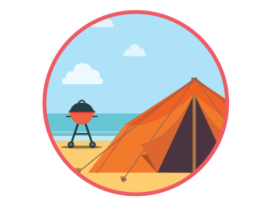 Airbnb 01 illustration vector