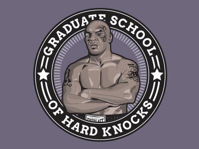 Tyson logo boxing apparel vector illustration t-shirt