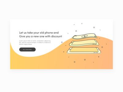 Phone to Money Illustration
