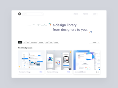 Design source homepage