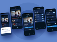 Workout log and track app
