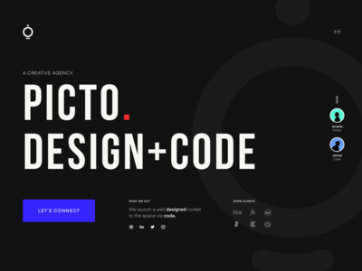 Upcoming style of Picto.co
