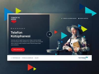 Türk Telekom / Türkiye'ye Değer Web Site