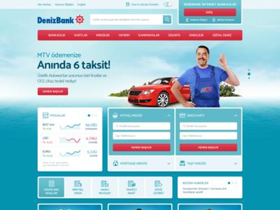 DenizBank Web Site