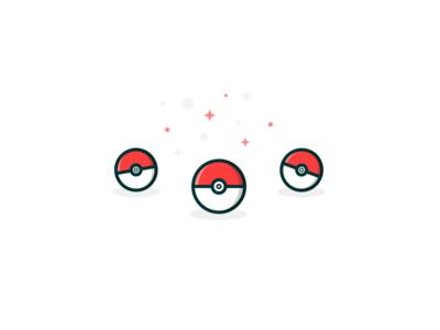 Starters & Pokeballs choice go illustration pokeball pokemon