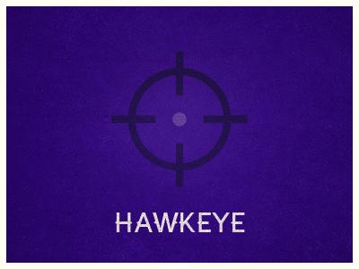 Hawkeye avengers marvel target hawkeye