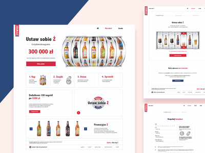 Set up your Ż ux ui lottery competition minimal website web