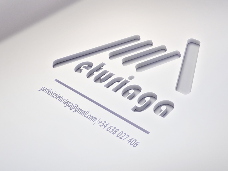 Leturiaga Corporal Identity diseño logo design corporal identity design