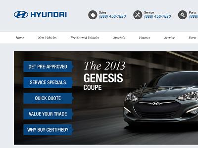 Hyundai Dealership Website hyundai dealership cars website auto dealer web design car dealer