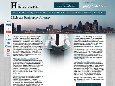Hilla Law Firm Web Design web design lawyer cityscape