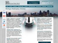 Hilla Law Firm Web Design