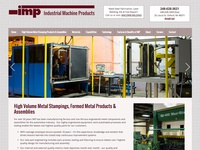 Industrial Machine Products - Web Design