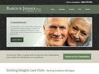 Barsch & Joswick Law Firm - Web Design