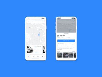 Car rental iOS app