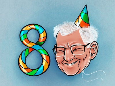Birthday Card illustration graphic design card birthday