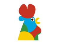 Branding - Elementary School - De Lindenhoeve logo design rooster tree tree logo animal logo logo branding